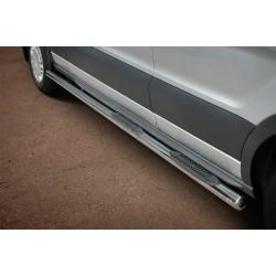 Marchepieds Ford Transit L3 Long (2014 -) - Latéraux avec revêtement en plastique anti-dérapant -