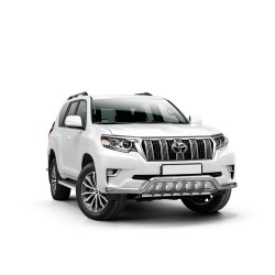 Barre pare-buffle avec grille de protection Toyota Land Cruiser 150 (2017-)