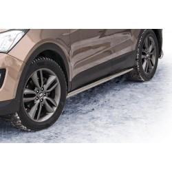 Marchepieds Hyundai Santa-Fe (2012 -) - Latéraux