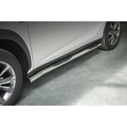 Marchepieds Lexus NX F-Sport (2014-) - Latéraux avec revêtement en plastique anti-dérapant -