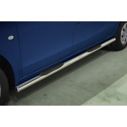 Marchepieds Mercedes V-Class Court (2014-) - Latéraux avec revêtement en plastique anti-dérapant -
