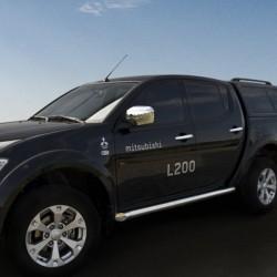 Marchepieds Mitsubishi L200 (2007-2009) - Rond Latéraux -