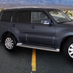 Marchepieds Mitsubishi Pajero (2007-2014) - Rond Latéraux -
