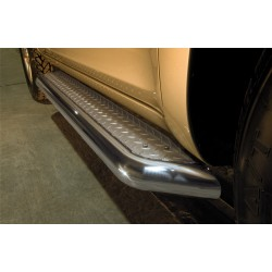 Marchepieds Nissan Pathfinder (2005-2010) - Plat Avec Plaque Anti Dérapante -