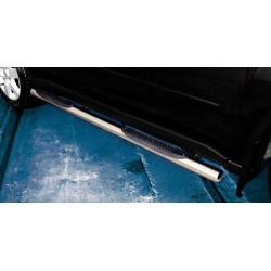 Marchepieds Nissan X-Trail (2007-2010) - Latéraux avec revêtement en plastique anti-dérapant -