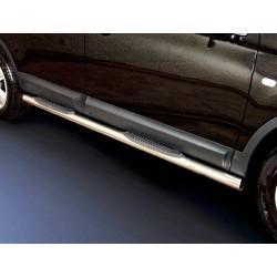 Marchepieds Nissan Qashqai (2007-2010) - Latéraux avec revêtement en plastique anti-dérapant -