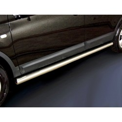 Marchepieds Nissan Qashqai + 2 (2010-2013) - Rond Latéraux -