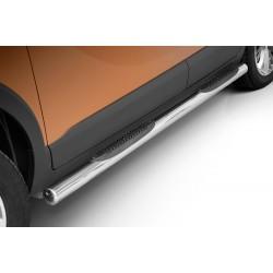 Marchepieds Opel Crossland X (2017-) - Latéraux avec revêtement en plastique anti-dérapant -