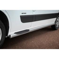 Marchepieds Renault Master (2010 -) - Latéraux avec revêtement en plastique anti-dérapant -