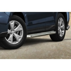 Marchepieds Subaru Forester (2013 -) - Plat avec plaque anti-dérapante -