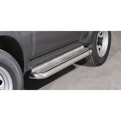 Marchepieds Suzuki Jimny (2005-2012) - Plat avec plaque anti-dérapante -