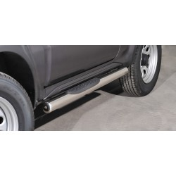 Marchepieds Suzuki Jimny (2012-) - Latéraux avec revêtement en plastique anti-dérapant -