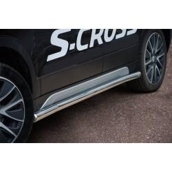 Marchepieds Suzuki SX4 S-CROSS (2013 - 2016) - Rond Latéraux -