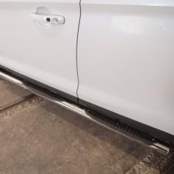 Marchepieds Toyota RAV4 (2006-2010) - Latéraux avec revêtement en plastique anti-dérapant -