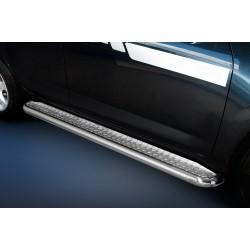 Marchepieds Toyota RAV4 (2010-2013) - Plat avec plaque anti-dérapante -