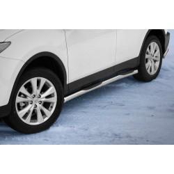 Marchepieds Toyota RAV4 (2013-2015) - Latéraux avec revêtement en plastique anti-dérapant -