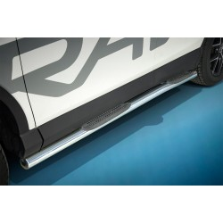Marchepieds Toyota RAV4 (2015 -) - Latéraux avec revêtement en plastique anti-dérapant -