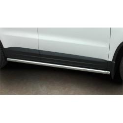 Marchepieds VW Tiguan (2007-2016) - Rond Latéraux compatible version sport -
