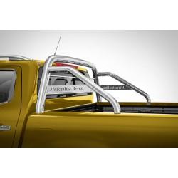 Rollbar Mercedes X-Class (2017-) - Arceau de benne avec grille et plaque -