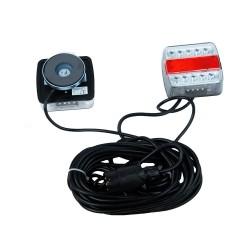 Kit de signalisation arrière LED avec plot magnétique 12 m