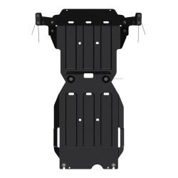 Plaque de Protection Boîte De Vitesse acier Isuzu D-Max (2012-2017)