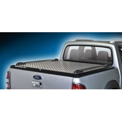 Couvre Benne en aluminium avec barres longitudinales Ford Ranger (2007-2012)