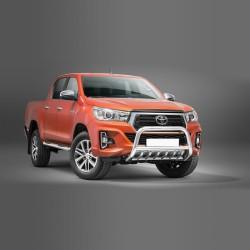 Pare-buffle avec grille Toyota Hilux (2018-)