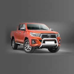 Pare-buffle avec barre transversale Toyota Hilux (2018-)