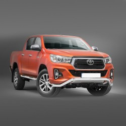 Barre pare-buffle sans plaque de protection Toyota Hilux (2018-)