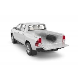Protection de benne en aluminium compatible cabine 1,5 Toyota Hilux (2018-)
