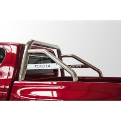 Rollbar Toyota Hilux (2018-) avec barre de protection et plaque avec inscription TOYOTA -