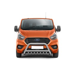 Pare-buffle avec grille Ford Transit Custom (2018-)