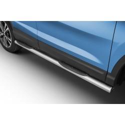 Marchepieds Nissan Qashqai (2017 -) - Latéraux avec revêtement en plastique anti-dérapant -