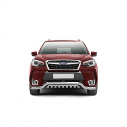 Barre pare-buffle avec plaque de protection Subaru Forester (2013-)