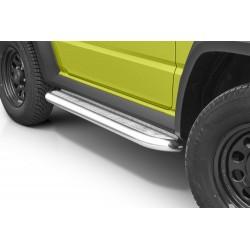 Marchepieds Suzuki Jimny (2018 -) - Plat Avec Plaque Anti Dérapante -