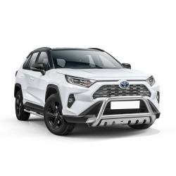 Pare-buffle avec plaque de protection Toyota RAV4 (2018-)