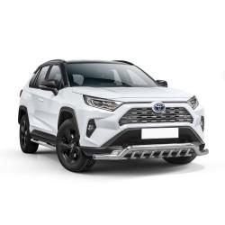 Barre pare-buffle avec grille de protection Toyota RAV4 (2018-)