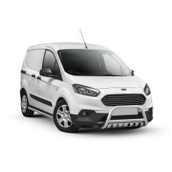 Pare-buffle avec plaque de protection Ford Courier (2018-)