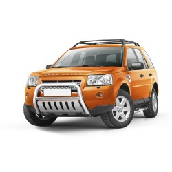 Pare-buffle avec plaque de protection Freelander II (2007-)