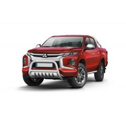 Pare-buffle avec plaque de protection Mitsubishi L200 (2019 -)
