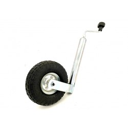 Roue Jockey avec roue gonflable Trailers Equipement