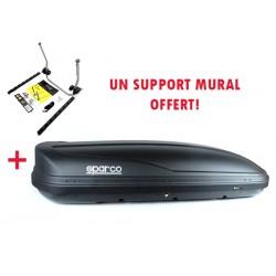 Coffre de toit 500L WEGO SPARCO 500 NOIR