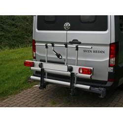 Porte Vélos Pivotant & Pliable Van Star Pivotant a Droite Spécial Mercedes Sprinter / VW Crafter / MAN TGE à Partir de 1996
