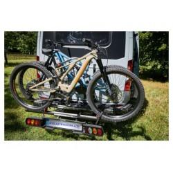 Porte Vélos Pivotant & Pliable Van Star E-Cross Fourgons Aménagés L4 (6,40Mètres) à Partir de 2006