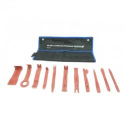 Jeu d'outils pour le démontage des pare-chocs
