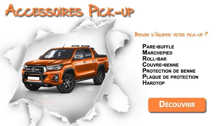 Besoin d'équiper votre pick-up ?